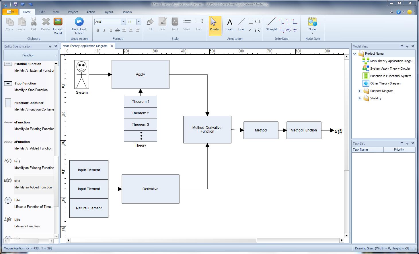 Click to view SLPSoft Interactive Application Modeling V2012 2012 screenshot